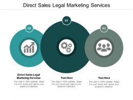 Direct Sales Legal Marketing Services Ppt Powerpoint Presentation Icon Styles Cpb