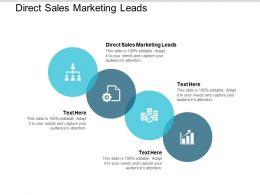 Direct Sales Marketing Leads Ppt Powerpoint Presentation Styles Slide Portrait Cpb