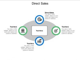 Direct Sales Ppt Powerpoint Presentation Infographics Gallery Cpb