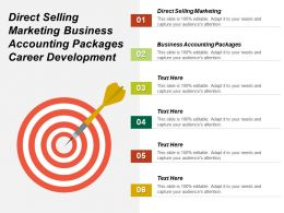 Direct Selling Marketing Business Accounting Packages Career Development