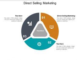 Direct Selling Marketing Ppt Powerpoint Presentation File Slide Portrait Cpb