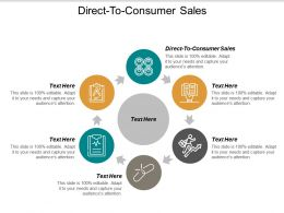 Direct To Consumer Sales Ppt Powerpoint Presentation Icon Graphics Download Cpb