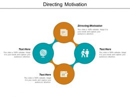 Directing Motivation Ppt Powerpoint Presentation File Slideshow Cpb