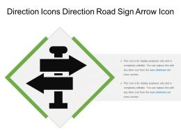 Direction Icons Direction Road Sign Arrow Icon