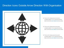Direction Icons Outside Arrow Direction With Organisation