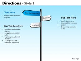 Directions Style 1 PPT 1