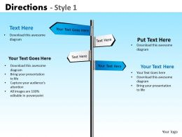 Directions Style 1 PPT 2