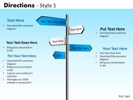 Directions Style 1 PPT 3