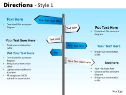 Directions Style 1 PPT 4