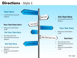 Directions Style 1 PPT 5