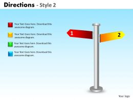 Directions Style 2 ppt 1