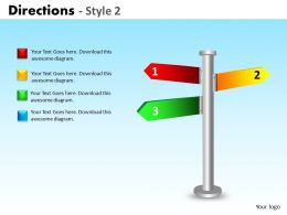 Directions Style 2 ppt 2