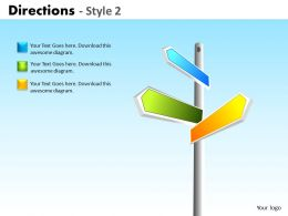 Directions Style 2 ppt 4