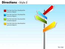Directions Style 2 ppt 5