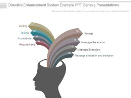 Directive Enhancement System Example Ppt Sample Presentations