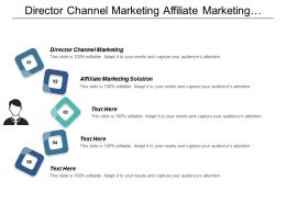 Director Channel Marketing Affiliate Marketing Solution Marketing Analytics Cpb