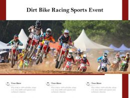Dirt Bike Racing Sports Event