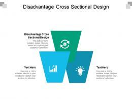 Disadvantage Cross Sectional Design Ppt Powerpoint Presentation Styles Ideas Cpb