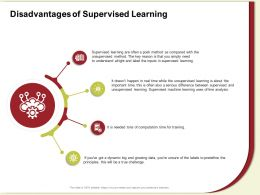 Disadvantages Of Supervised Learning Line Analysis Ppt Powerpoint Presentation Gallery Influencers
