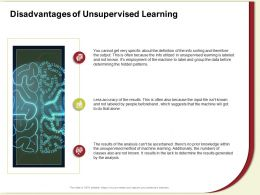 Disadvantages Of Unsupervised Learning Known Input Ppt Powerpoint Presentation Gallery Inspiration