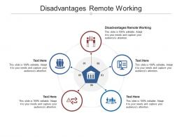 Disadvantages Remote Working Ppt Powerpoint Presentation Samples Cpb