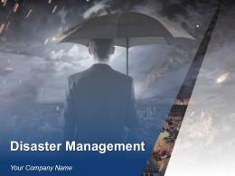 Disaster Management Powerpoint Presentation Slides