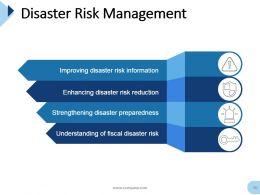 Disaster Management Powerpoint Presentation Slides