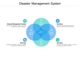 Disaster Management System Ppt Powerpoint Presentation File Graphics Example Cpb