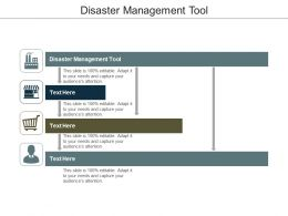 Disaster Management Tool Ppt Powerpoint Presentation Slides Ideas Cpb