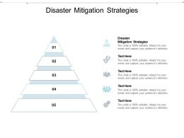 Disaster Mitigation Strategies Ppt Powerpoint Presentation Layouts Aids Cpb