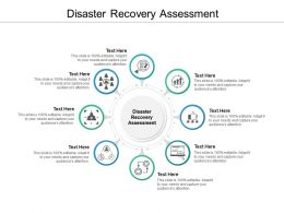 Disaster Recovery Assessment Ppt Powerpoint Presentation Professional Good Cpb