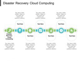 Disaster Recovery Cloud Computing Ppt Powerpoint Presentation Summary Mockup Cpb