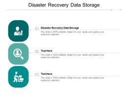 Disaster Recovery Data Storage Ppt Powerpoint Presentation Summary Outfit Cpb