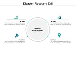 Disaster Recovery Drill Ppt Powerpoint Presentation Ideas Designs Download Cpb