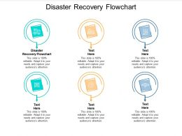 Disaster Recovery Flowchart Ppt Powerpoint Presentation Model Inspiration Cpb