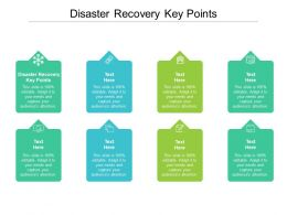 Disaster Recovery Key Points Ppt Powerpoint Presentation Inspiration Layout Ideas Cpb