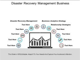 Disaster Recovery Management Business Analytics Strategy Relationship Strategies Cpb