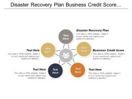 Disaster Recovery Plan Business Credit Score Advertising Technology