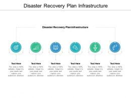 Disaster Recovery Plan Infrastructure Ppt Powerpoint Presentation Ideas Gallery Cpb