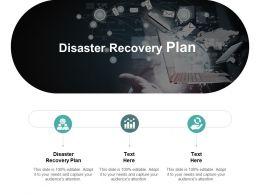 Disaster Recovery Plan Ppt Powerpoint Presentation Ideas Gridlines Cpb