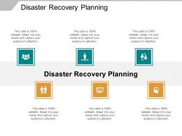 Disaster Recovery Planning Ppt Powerpoint Presentation Inspiration Styles Cpb