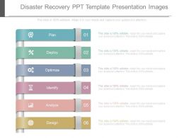 Disaster Recovery Ppt Template Presentation Images