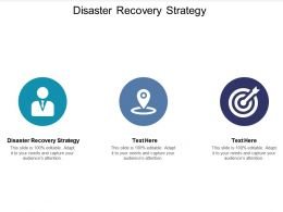 Disaster Recovery Strategy Ppt Powerpoint Presentation Pictures Influencers Cpb