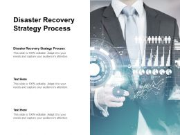 Disaster Recovery Strategy Process Ppt Powerpoint Presentation File Ideas Cpb