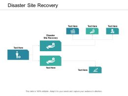 Disaster Site Recovery Ppt Powerpoint Presentation Inspiration Professional Cpb