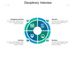 Disciplinary Interview Ppt Powerpoint Presentation Model Topics Cpb