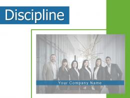 Discipline Employee Business Acceptance Persistence Management