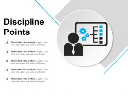 Discipline Points Powerpoint Presentation