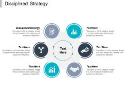 Disciplined Strategy Ppt Powerpoint Presentation Gallery Icon Cpb