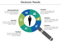 Disclosure Results Ppt Powerpoint Presentation Gallery Summary Cpb